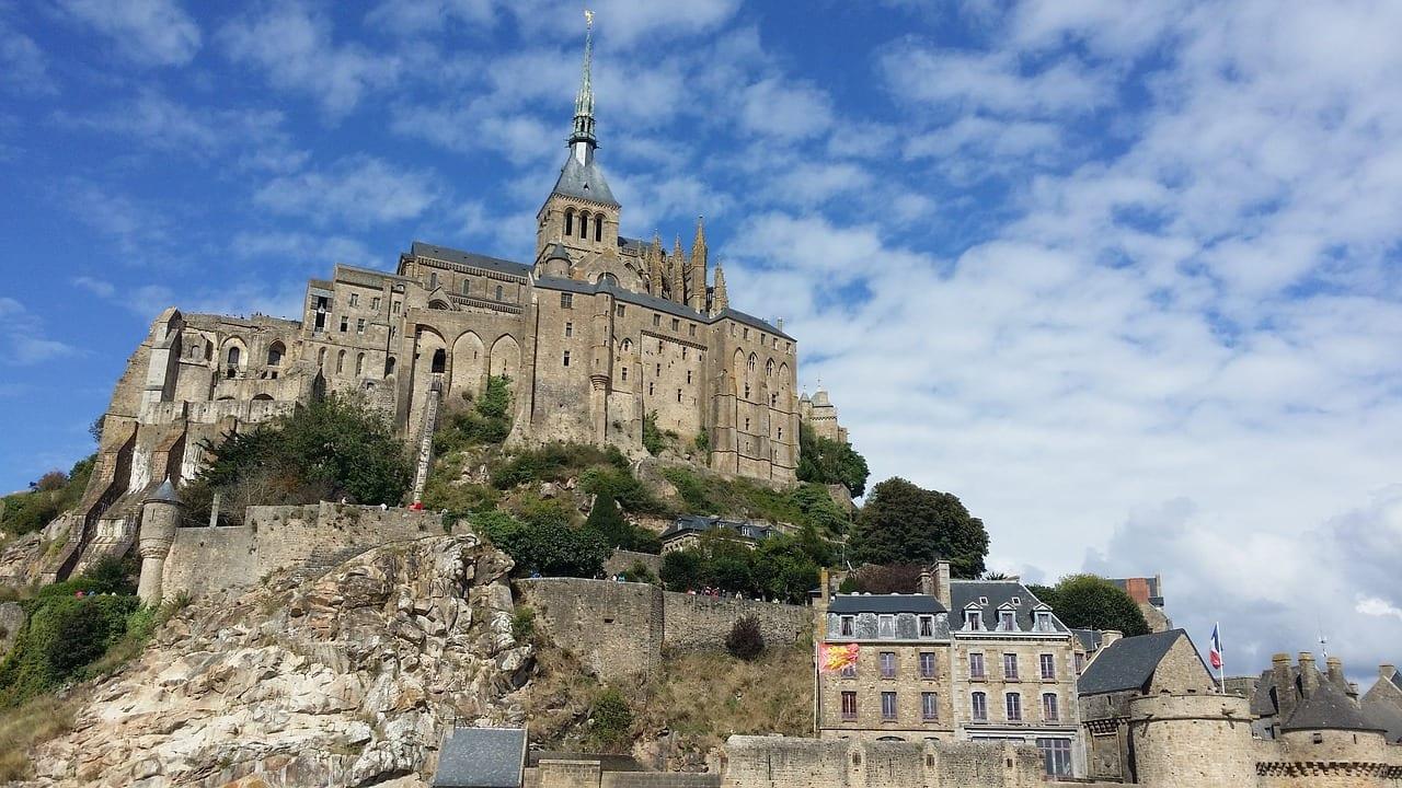 Mont Saint Michel Francia Arquitectura Francia