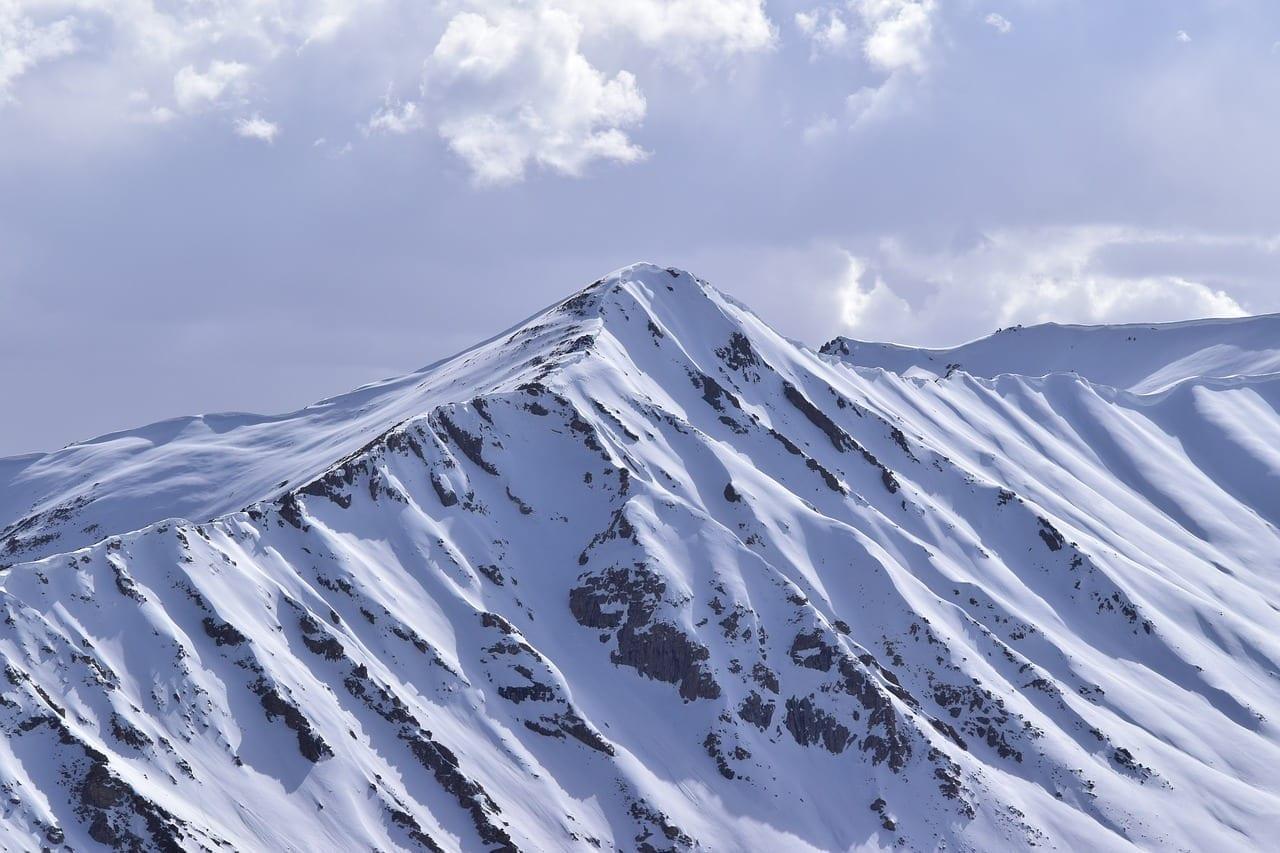Montañas Snow Leh India