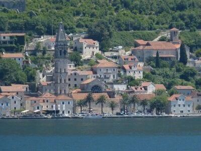 Montenegro Kotor Los Balcanes Montenegro