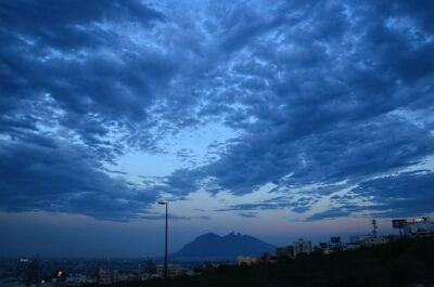 Monterrey Nubes Cielo México
