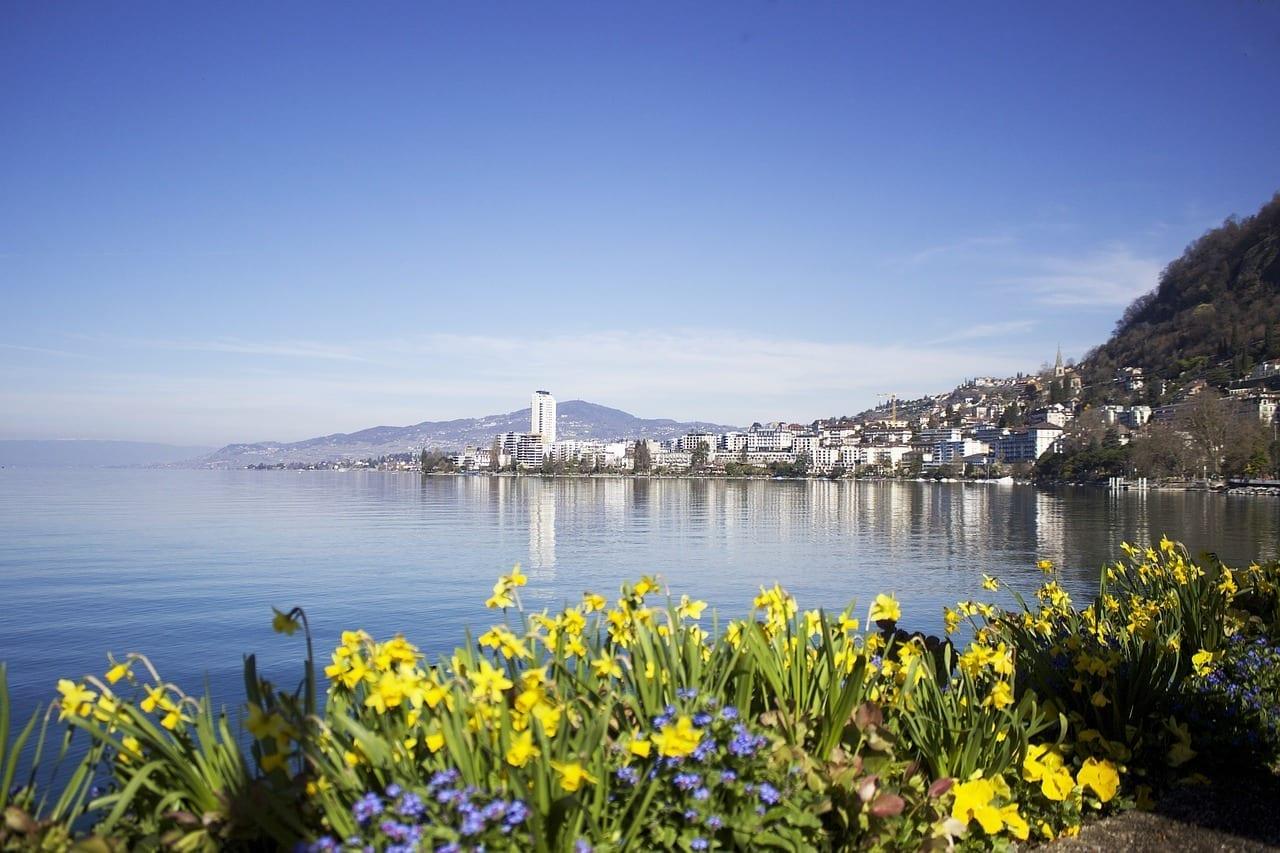 Montreux Suiza Lago Suiza
