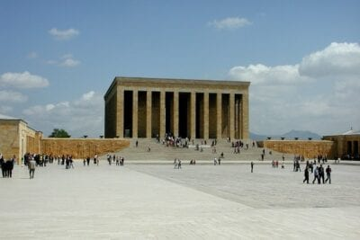 Monumento Ankara Pavo Turquía