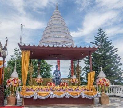 Monumento Chiang Mai Tailandia Tailandia