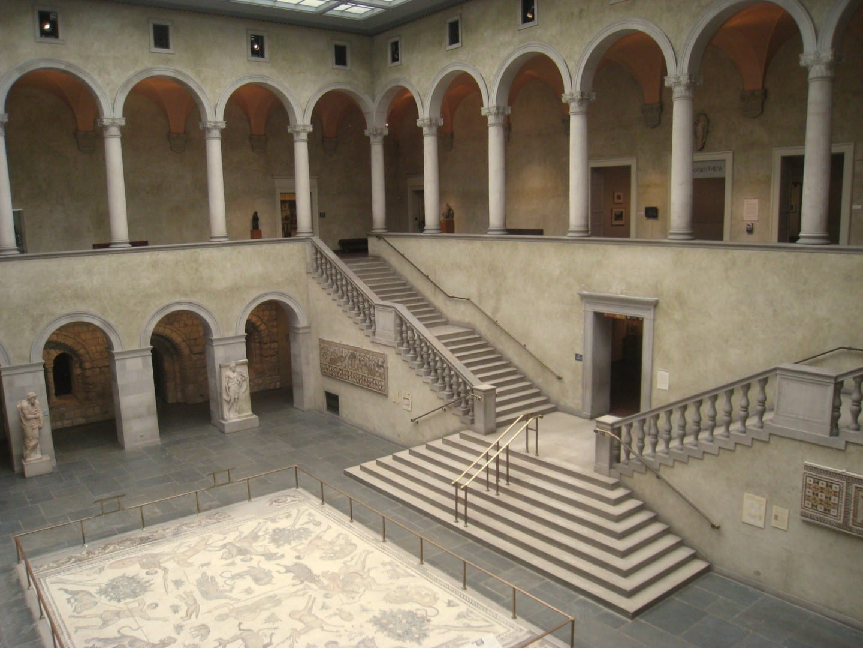 Mosaicos, Museo de Arte de Worcester Worcester MA Estados Unidos