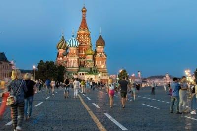 Moscú Plaza Roja Rusia Rusia