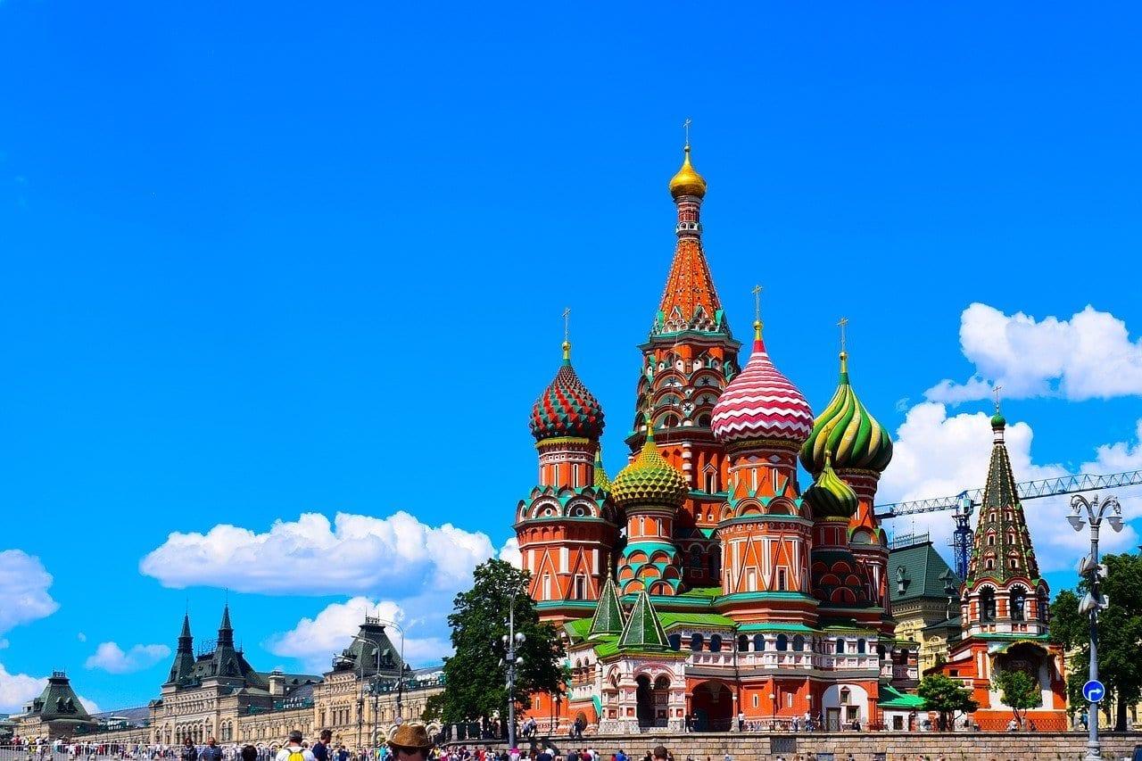 Moscú San Basile Plaza Roja Rusia