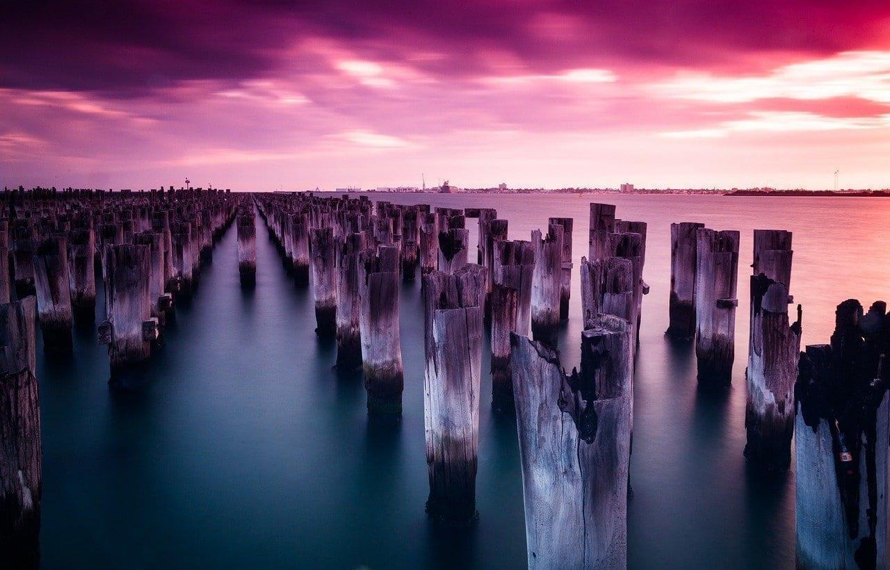 Muelle De Los Príncipes Melbourne Port Melbourne Australia