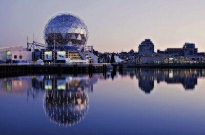 Mundo De La Ciencia False Creek Vancouver Canadá