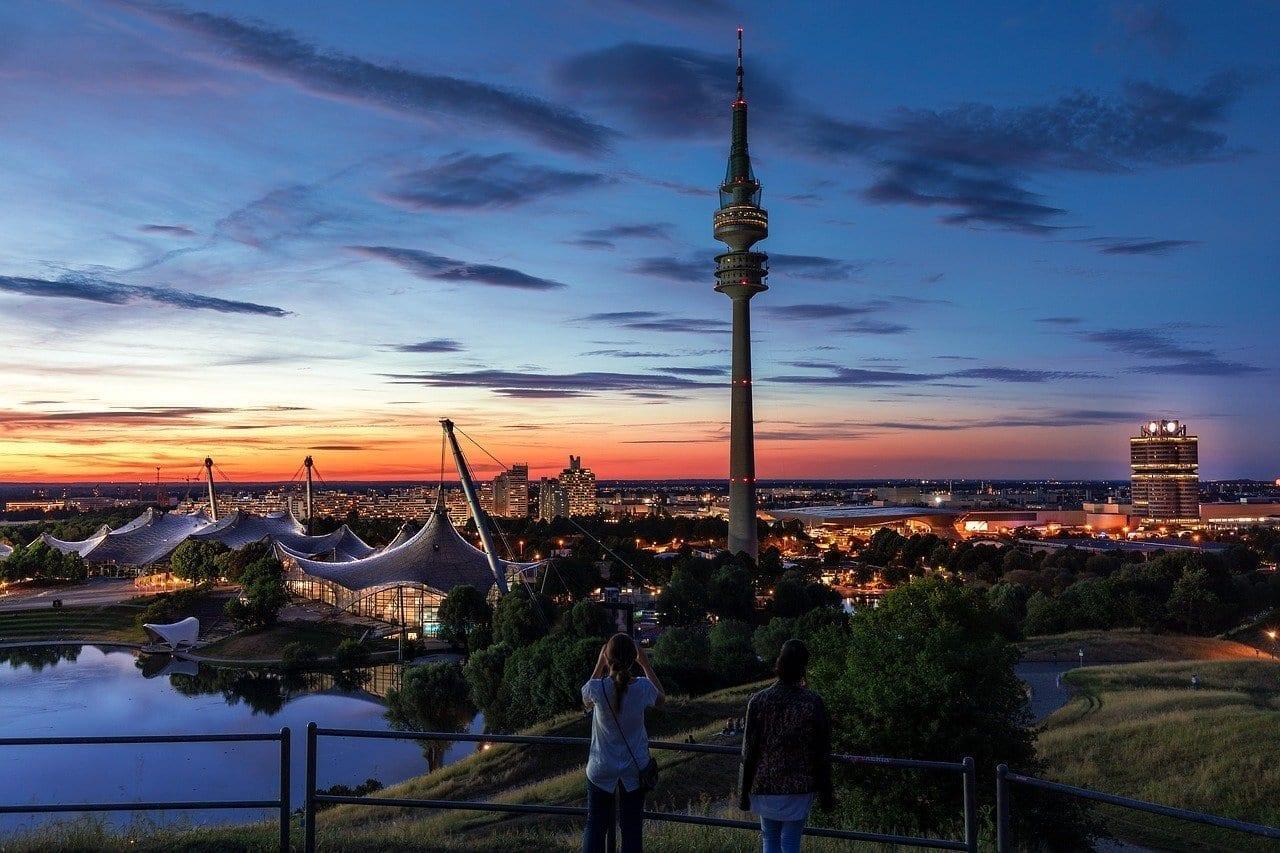 Munich Estadio Olímpico Parque Olímpico Alemania