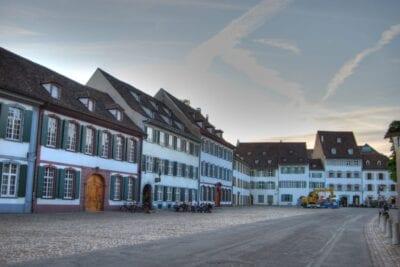Munsterplatz en Basilea Basilea Suiza