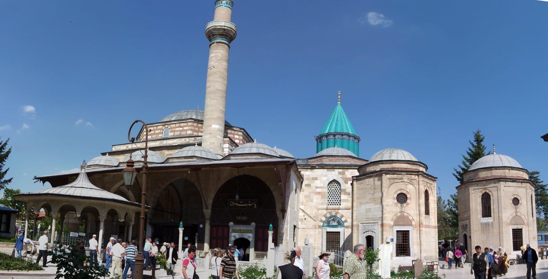 Museo Mevlana - Mausoleo de Rumi Konya Turquía