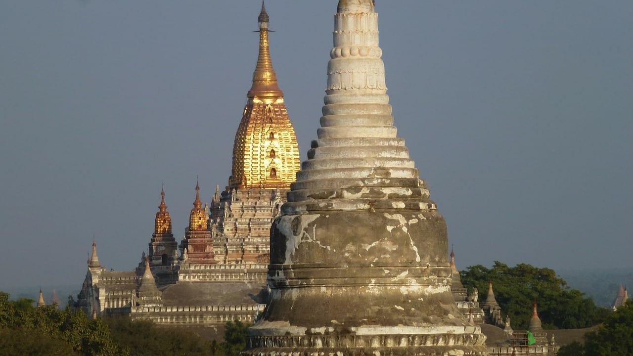 Myanmar Bagan Templos Myanmar