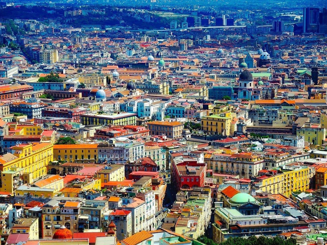 Nápoles Italia Ciudad Italia