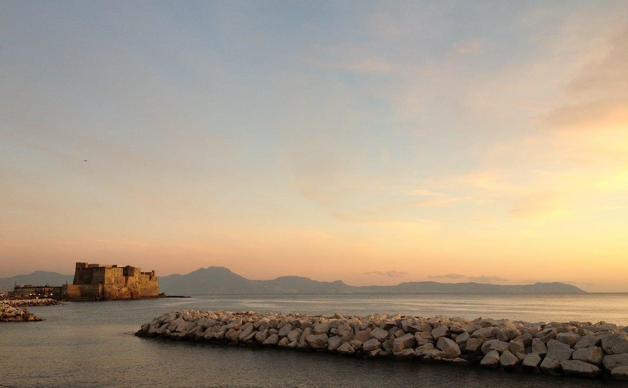 Nápoles Italia Mar Italia