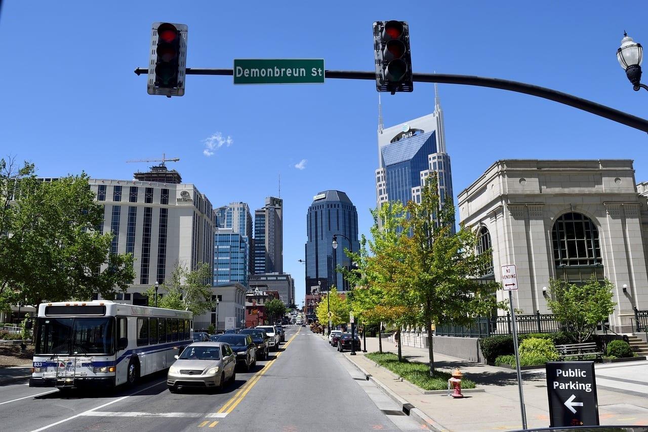 Nashville Tennessee Centro De La Ciudad Estados Unidos