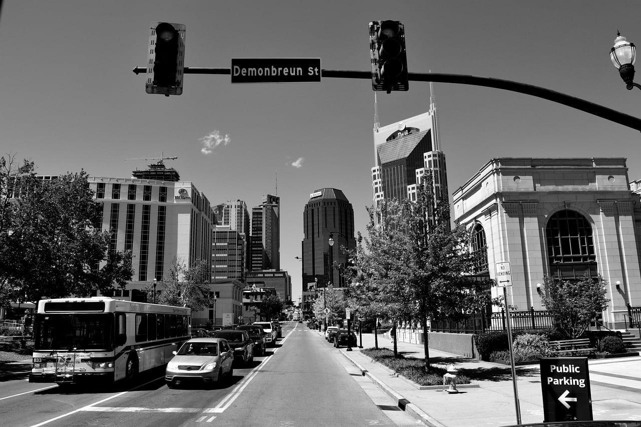 Nashville Tennessee Ciudad Estados Unidos