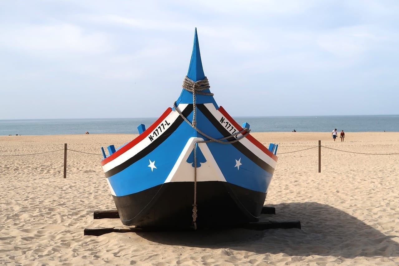 Nazaret Portugal Barco Israel