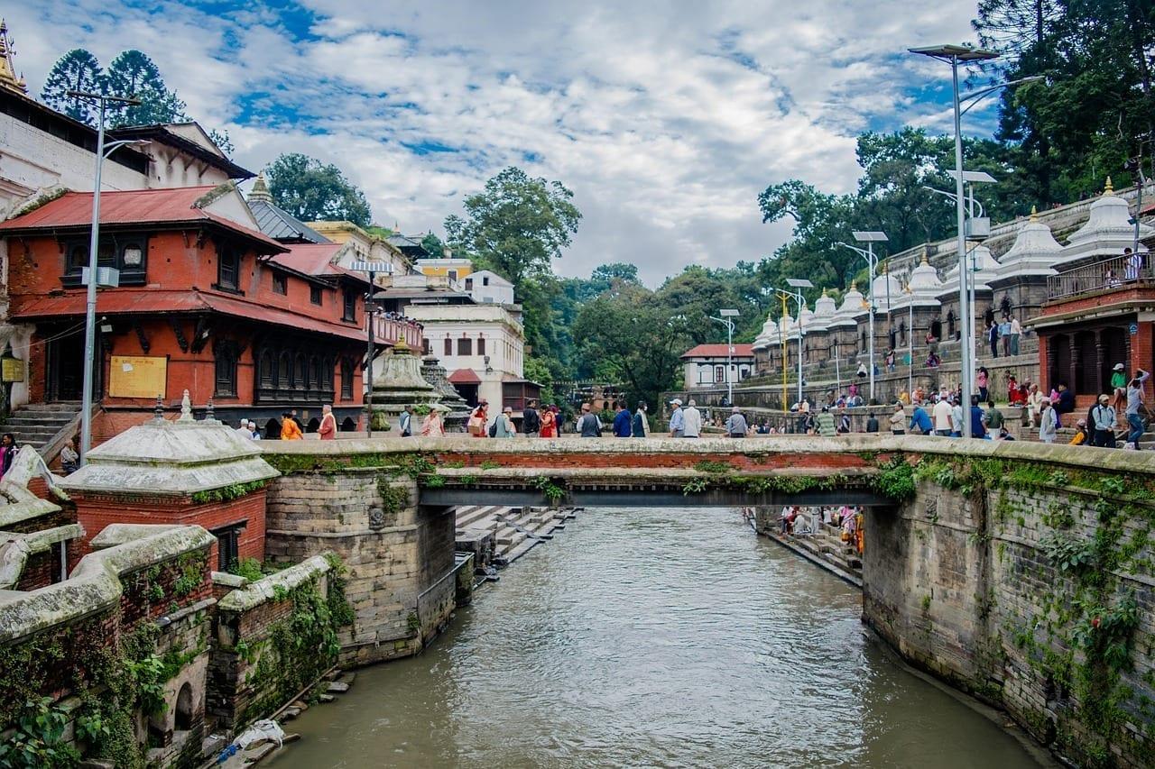 Nepal Katmandú Pasuptinath Nepal