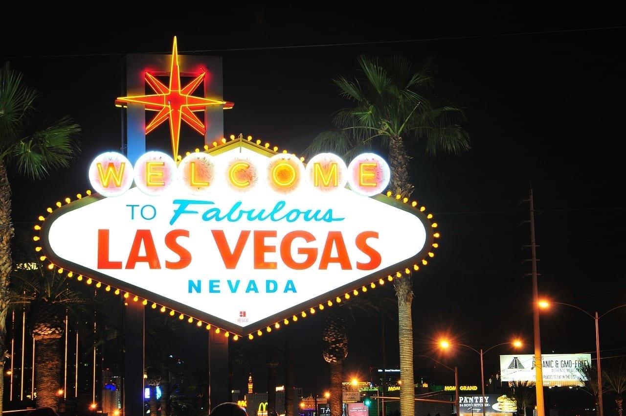 Nevada Las Vegas Muestra De Las Vegas Estados Unidos