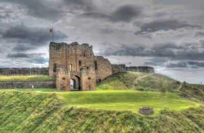 Newcastle Castillo Gran Bretaña Nubes Reino Unido