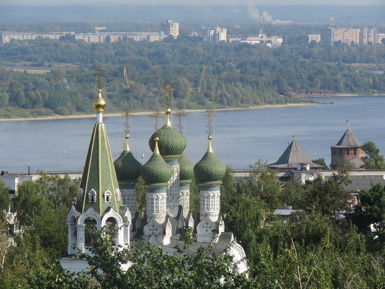 Nizhniy Novgorod Iglesia Templo Rusia