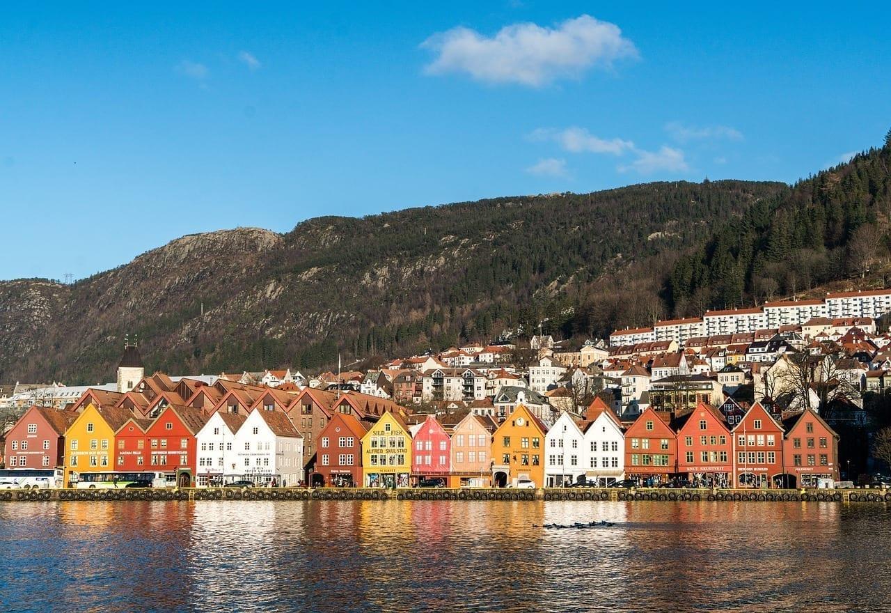 Noruega Bergen Costa Noruega
