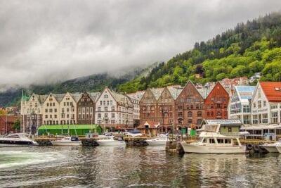 Noruega Bergen Paisaje Noruega