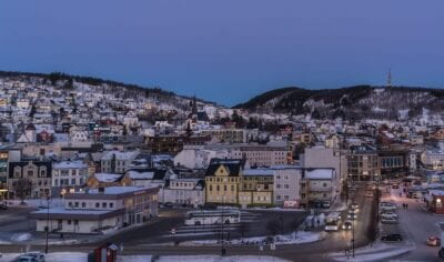 Noruega Costa Tromso Noruega