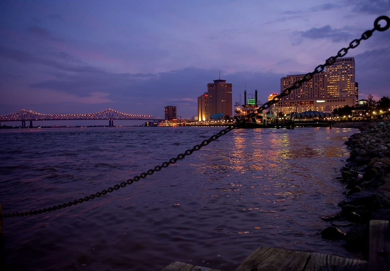 Nueva Orleans Louisiana Ciudad Estados Unidos