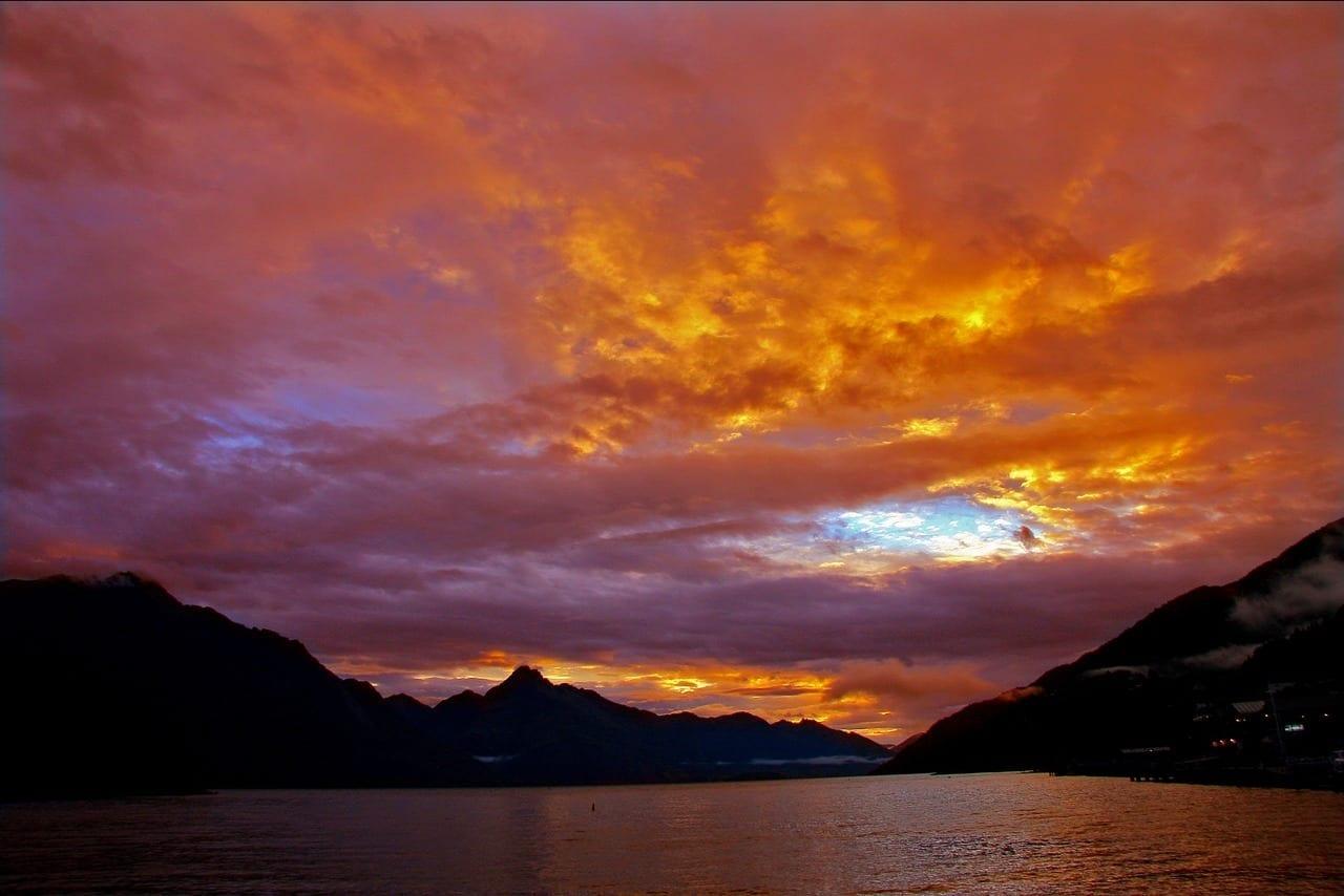 Nueva Zelanda Queenstown Lago Nueva Zelanda