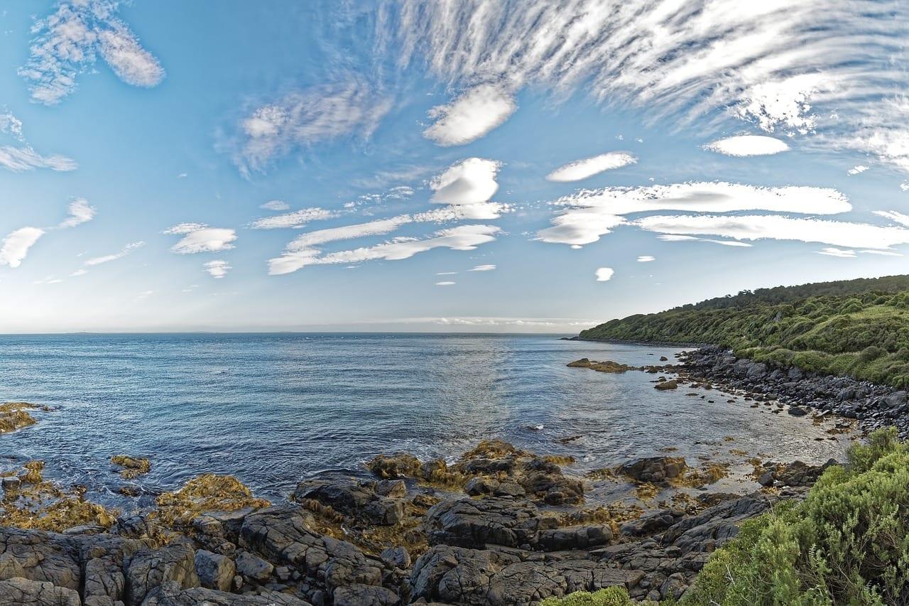 Nueva Zelanda Stirling Point Rock Reino Unido