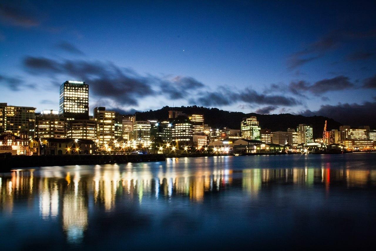 Nueva Zelanda Wellington Puerto Nueva Zelanda