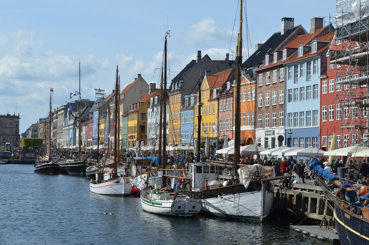 Nyhavn Dinamarca Copenhague Dinamarca