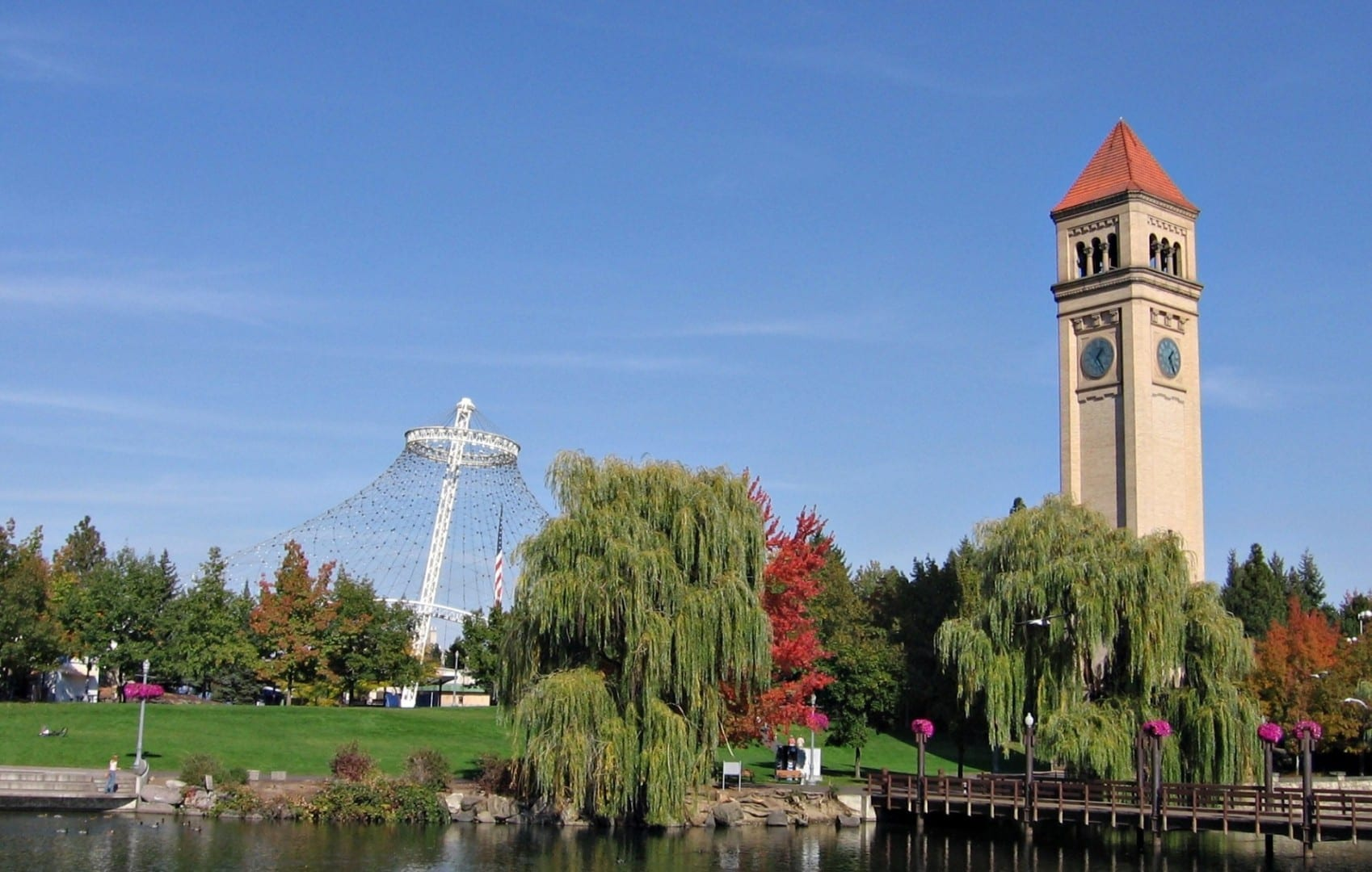 Oasis del Centro - Riverfront Park Spokane WA Estados Unidos