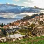 Ohrid El Norte De Macedonia Ciudad Macedonia