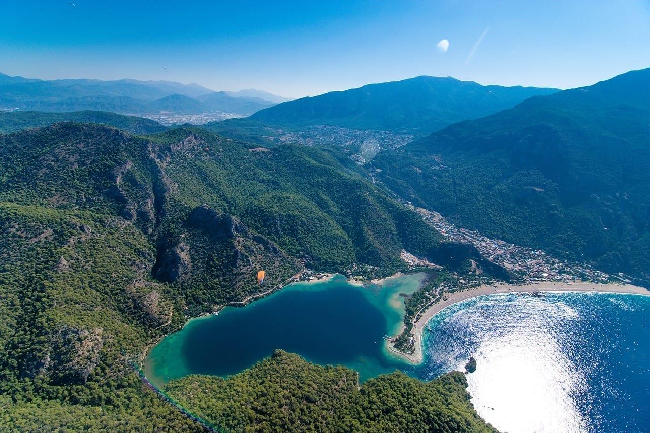 Oludeniz Pavo Playa Turquía