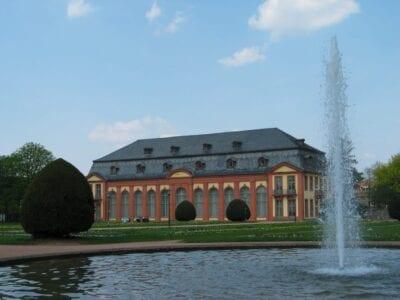 Orangerio Darmstadt Alemania