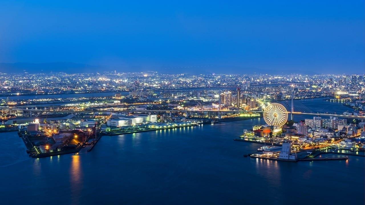 Osaka Puerto El Puerto De Osaka Japón Japón