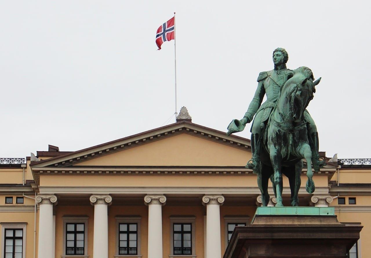 Oslo Noruega De La Ciudad Noruega