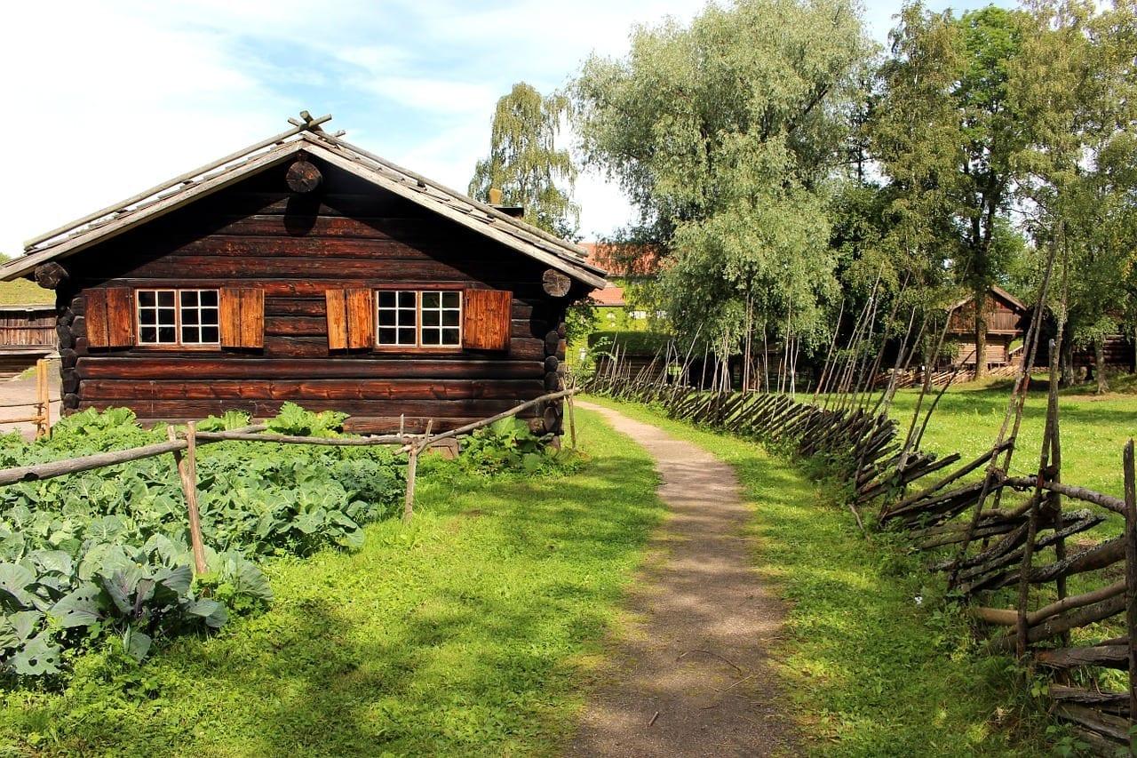 Oslo Noruega Museo Folclórico Noruega