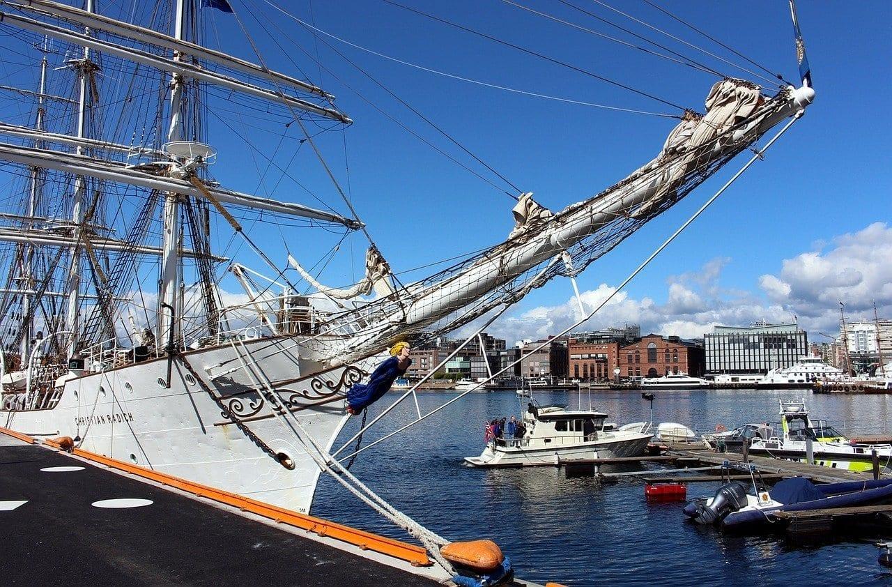 Oslo Noruega Puerto Noruega
