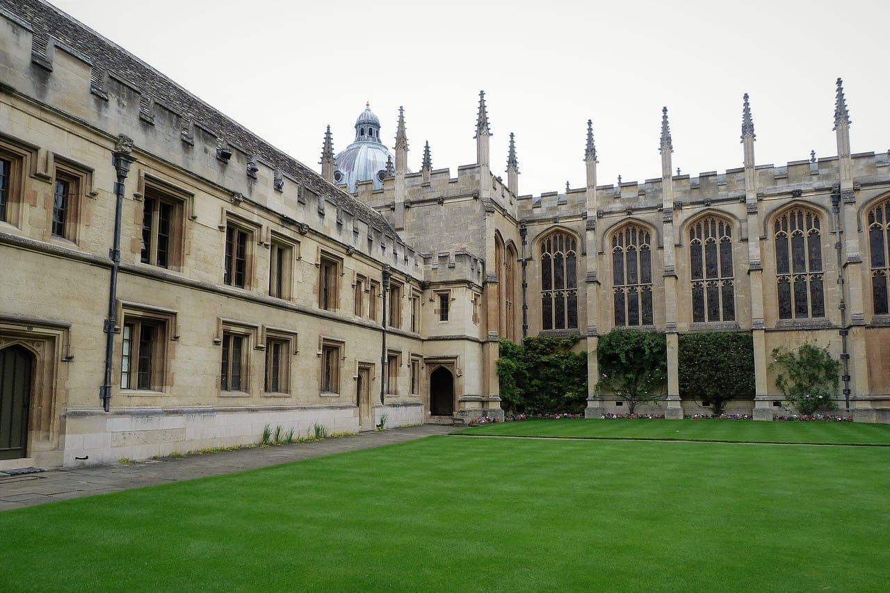 Oxford Universidad Arquitectura Reino Unido