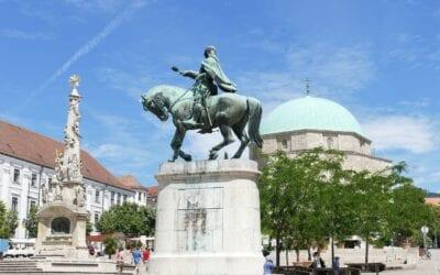 Pécs Hungría De La Ciudad Hungría