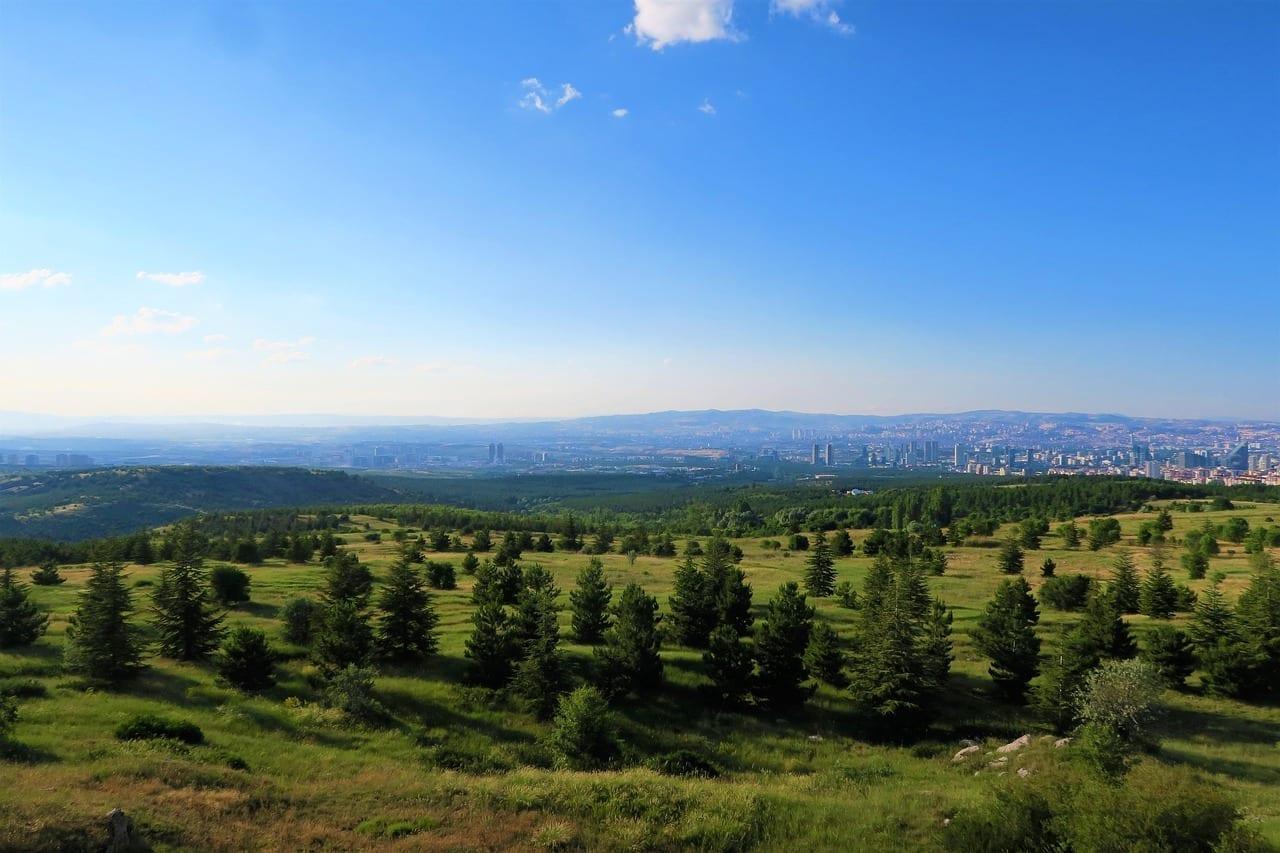 Paisaje Ankara Naturaleza Turquía
