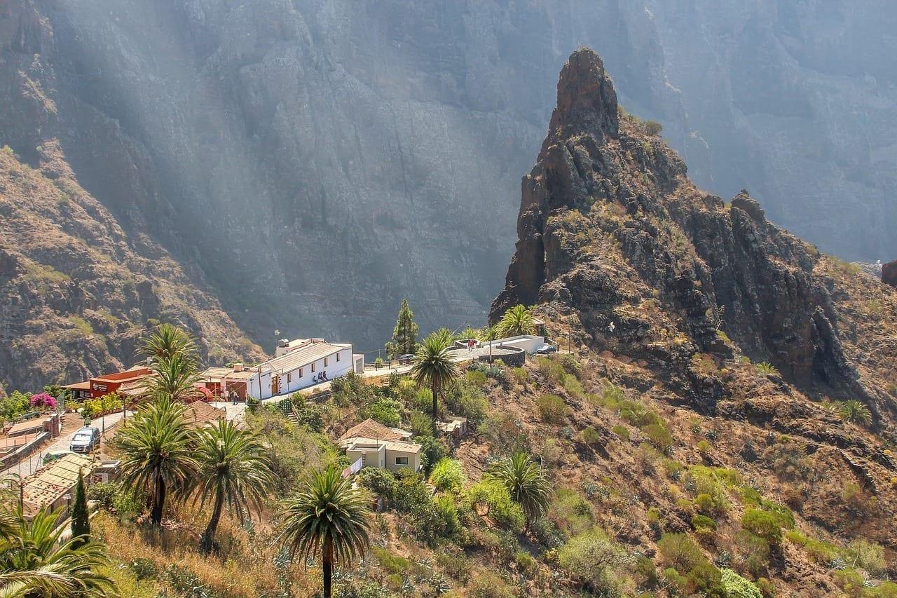 Paisaje La Naturaleza Tenerife España