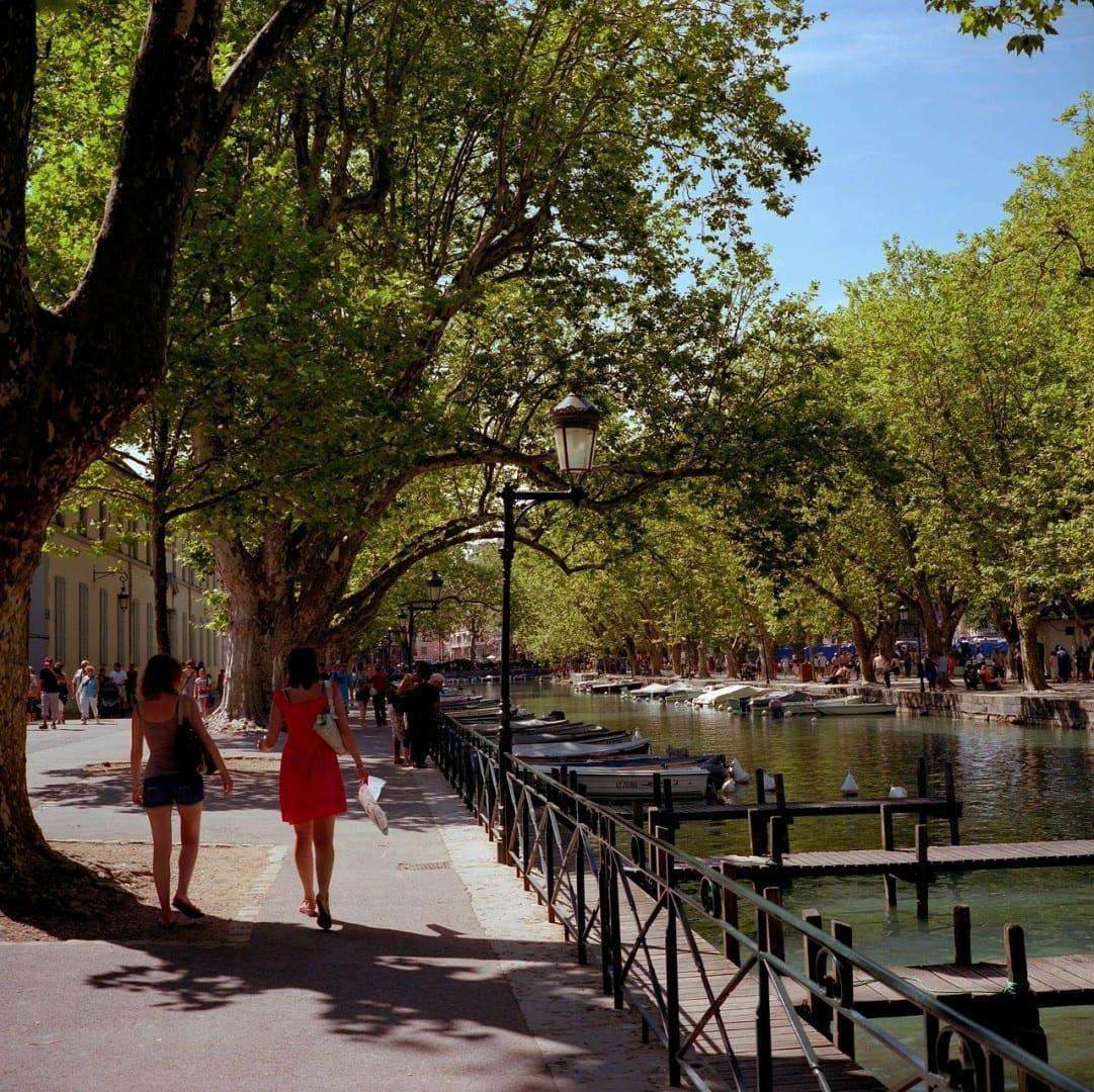 Paisaje Urbano Annecy Francia Francia