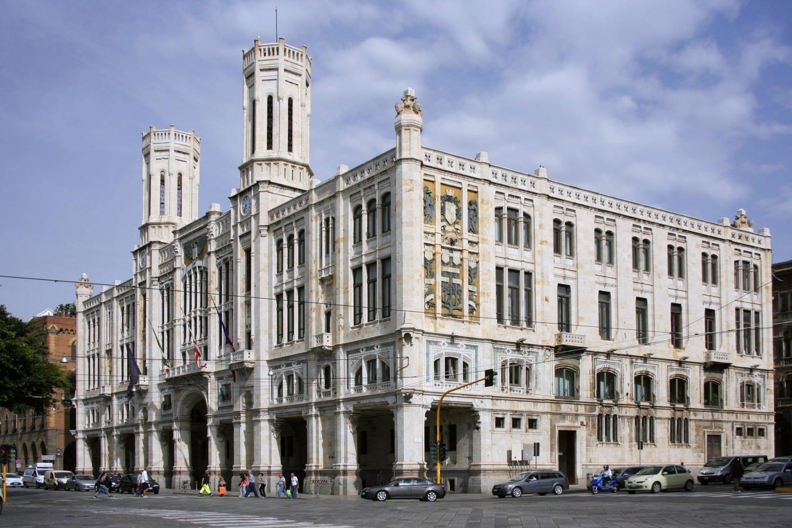 Palacio Cívico, Cagliari Cagliari, Sardinia Italia
