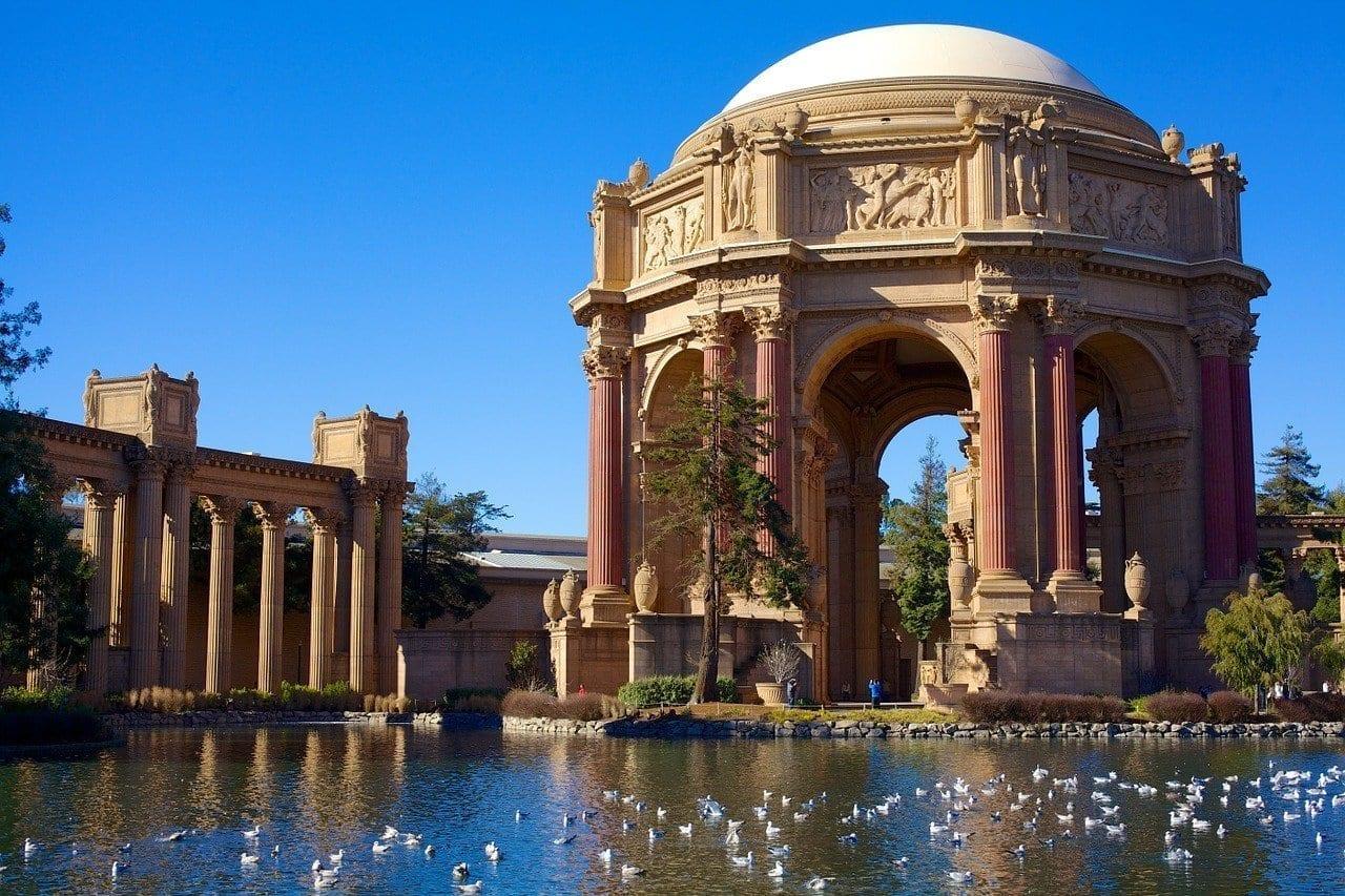 Palacio De Bellas Artes San Francisco California Estados Unidos