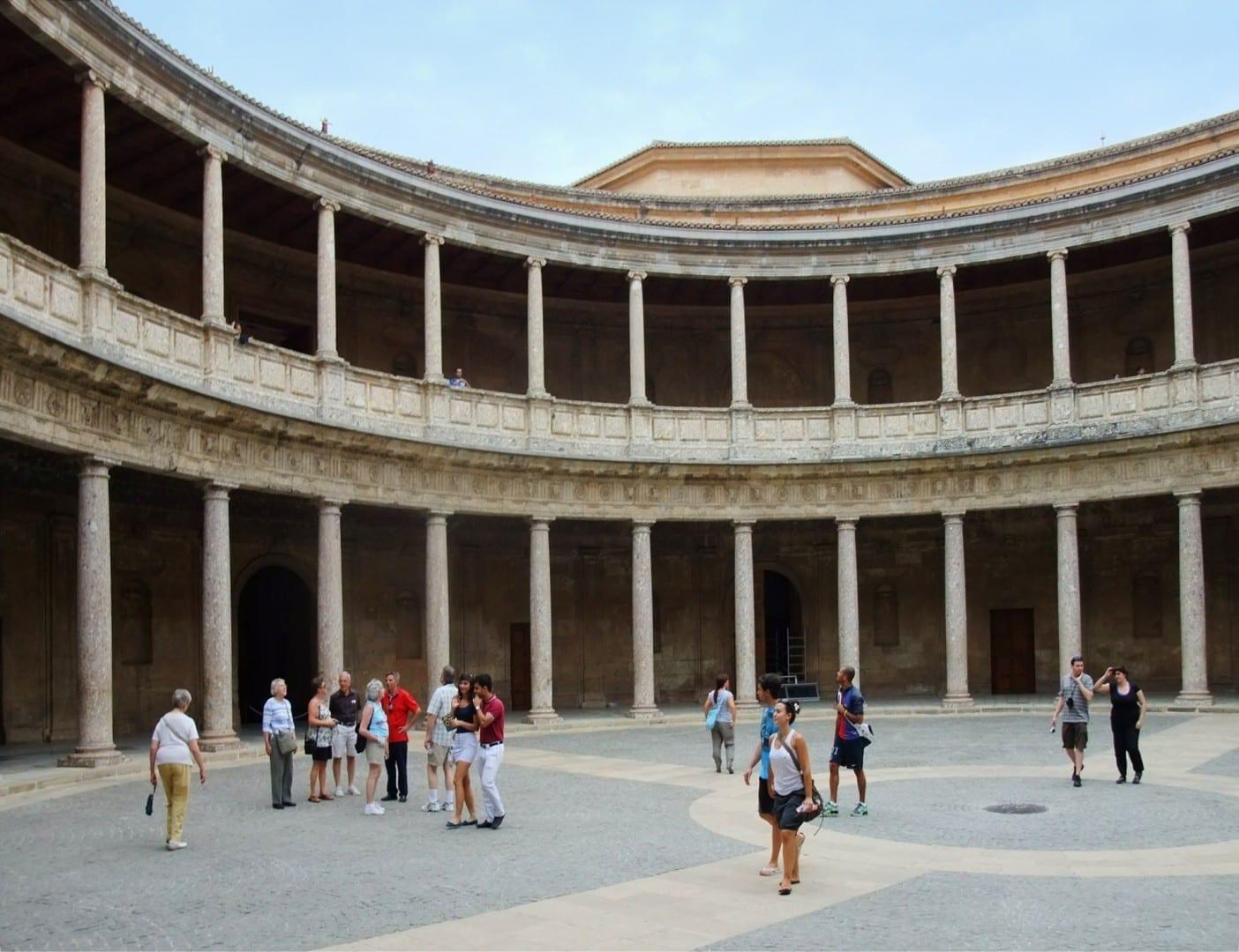 Palacio de Carlos V Granada España