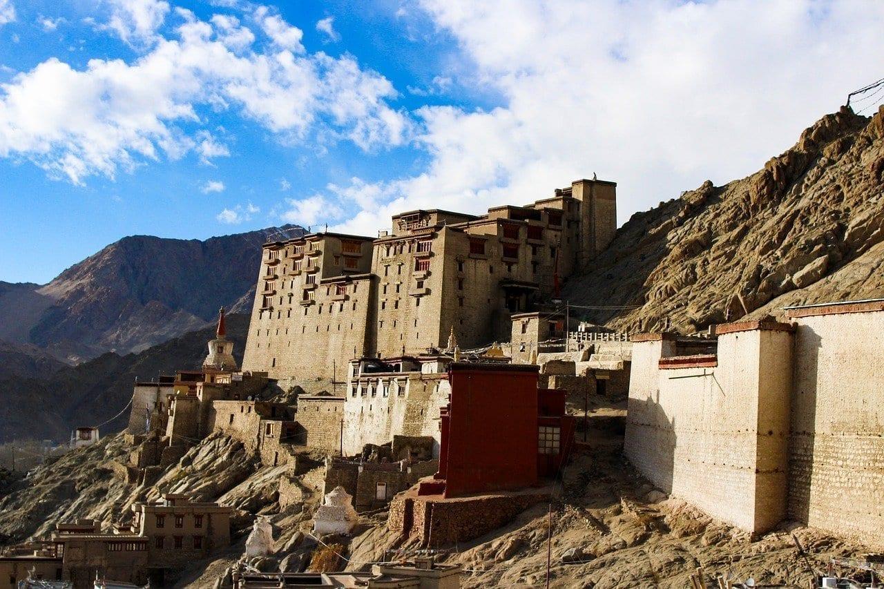 Palacio De Leh Ladakh Montañas India